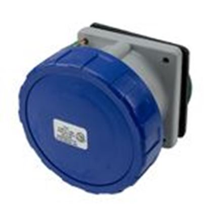 Picture of Power Dynamics Inc 430R9W 30 Amp, 250 Volt Receptacle, Watertight