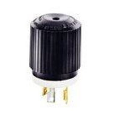 Picture of Hubbell-Bryant 70530NP Lkg Plug, 30a 125v, L5-30p, B/w