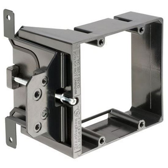 Picture of Arlington LVA2 Low Voltage Mounting Bracket, 2-Gang, Adjustable