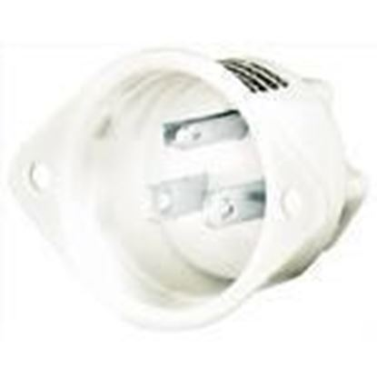 Picture of Hubbell-Bryant 5278 Flg-inlet, 15a 125v, 5-15p, Wh