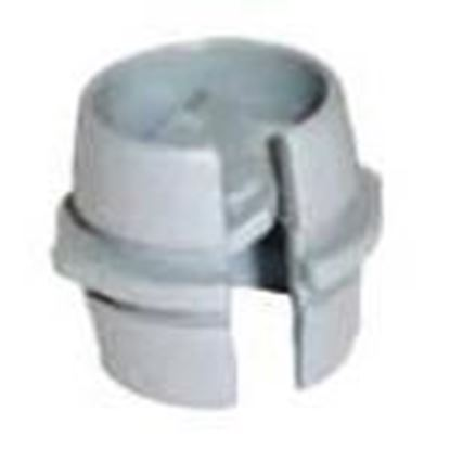 "Picture of Rack-A-Tiers TT500 Quick Connector, 1/2"", For Non-Metallic/Flexible Cord, Non-Metallic"