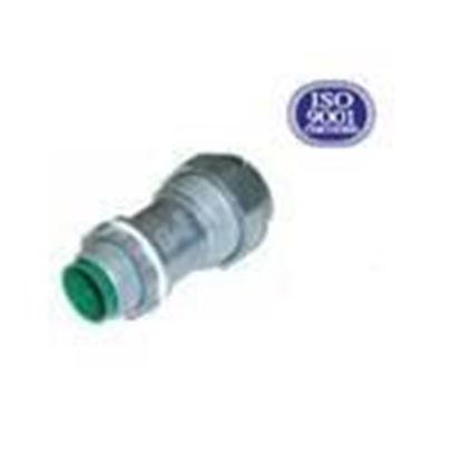 """Picture of AFC 0124-15-00 MC/AC Cable Connector, 3/8"""", Cable Size: 12/2 to 10/3, Zinc Die Cast"""