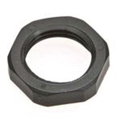 "Picture of Mencom 212PA/SW 1/2"" NPT Locknut Black"