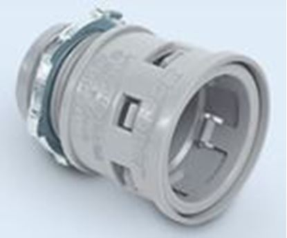 """Picture of Kraloy 189680 1-1/4"""" PVC Male Terminal Adapter."""