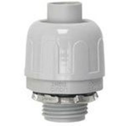 "Picture of Halex 76220B 2"" Liquid Tight Connector Quick-Set"