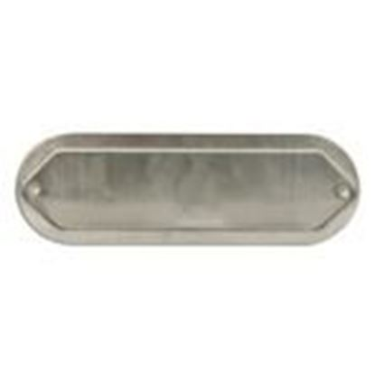 "Picture of Mulberry Metal 11710 1/2"" Blank Conduit Fitting Cover, Aluminum"