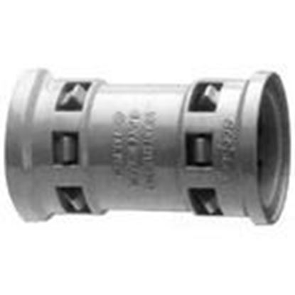 """Picture of Kraloy 089000 Coupling, 1/2"""", Material: PVC, Gray"""