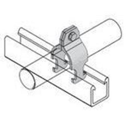 Picture of Power-Strut PCR-150 Fiberglass Pipe Clamp
