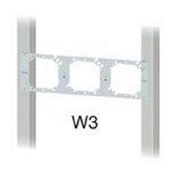 Picture of Cablofil W3 Wall Bracket, 3 Openings
