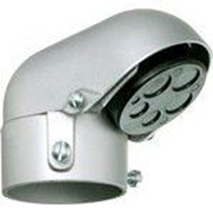 "Picture of Arlington 129 Mast Reducer Entrance Cap, 2-1/2"", Metallic"