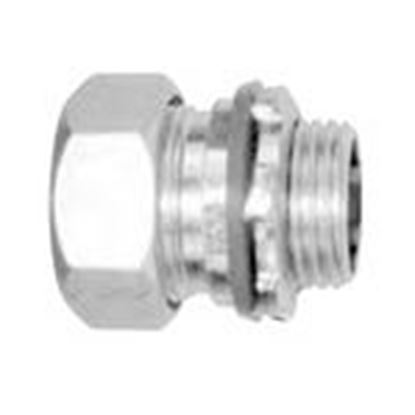 "Picture of American Fittings Corp CG5 1/2"" Strain Relief Cord/Cable Grip, Straight, 0.560-0.650"""
