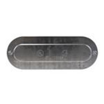 """Picture of Cooper Crouse-Hinds 150 Conduit Body Cover, Series 5, 1/2"""", Aluminum"""
