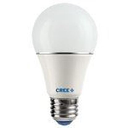 Picture of Cree Lighting A19-60W-27K-U1 LED Lamp, A19, 60W Equivalent, 2700K, Soft White