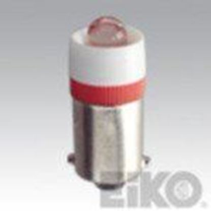 Picture of Eiko LED-6-BA9S-W LED Indicator Bulb, BA9s, 6V, T3-1/4, White