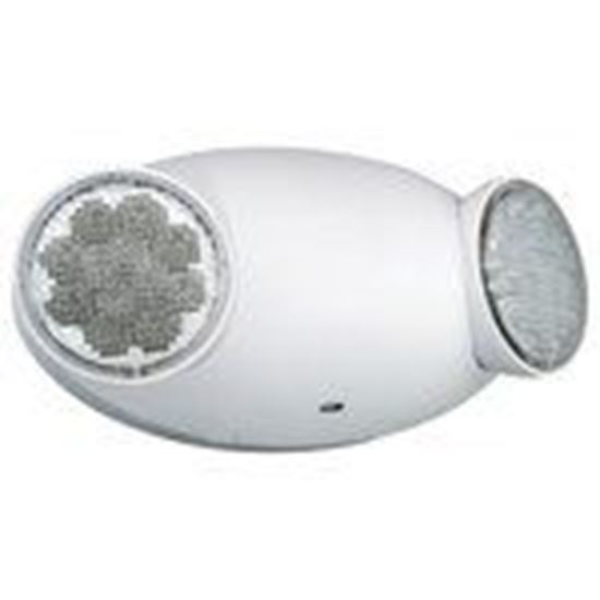 Picture of Hubbell-Dual-Lite CU2 Emergency Light, LED Dual Adjustable Head