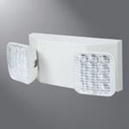 Picture of All-Pro Lighting AP2SQLED Emergency Light, Thin Profile, 120/277V, 2-Lamp