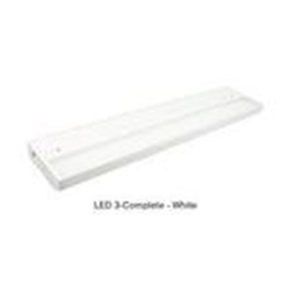 "Picture of American Lighting 3LC2-16-WH 16"" LED Undercabinet Fixture"