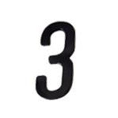 """Picture of Aero-Lite NUM4 #3 4"""" Number """"3"""""""