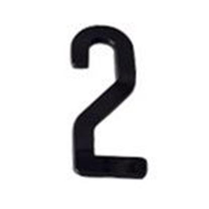 """Picture of Aero-Lite NUM4 #2 4"""" Number """"2"""""""