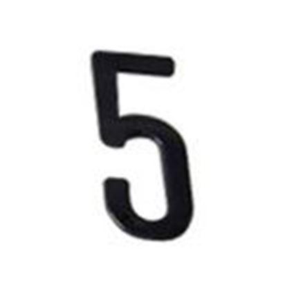 """Picture of Aero-Lite NUM4 #5 4"""" Number """"5"""""""
