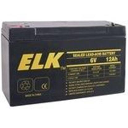 Picture of ELK 06120 6V 12Ah