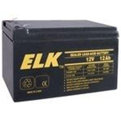 Picture of ELK 12120 12V Battery 12 Ah