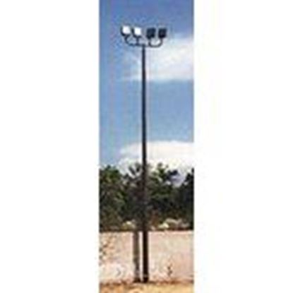 Picture of Shakespeare BO24-02-N5-BE-13 24' Lighting Pole, Round Tapered, Bronze