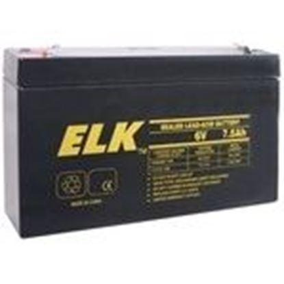 Picture of ELK 0675 6V Battery 7.5 Ah