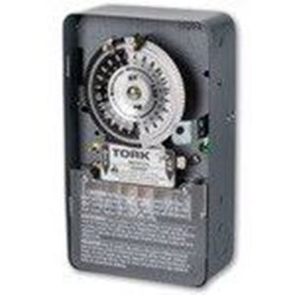 Picture of NSI Tork 1109A-O 24 Hour Time Switch, 120-277V, 40A, DPST