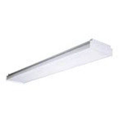 Picture of Hubbell-Columbia Lighting LAW4-35ML-EDU LED Wraparound Fixture, 4' Length, 3500K, 120-277V