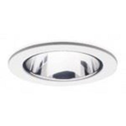 "Picture of Halo 1421C Reflector Trim, 4"", White"