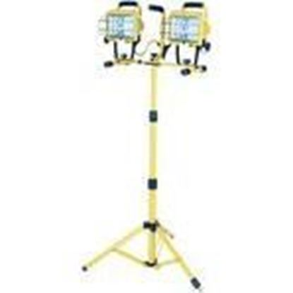 Picture of Designers Edge L14SLEDSW 1000W Halogen Work Lights - Telescoping