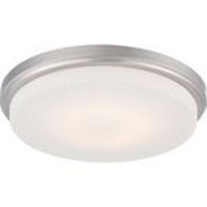 Picture of Satco 62/609 LED Flush Fixture with Opal Frosted Glass