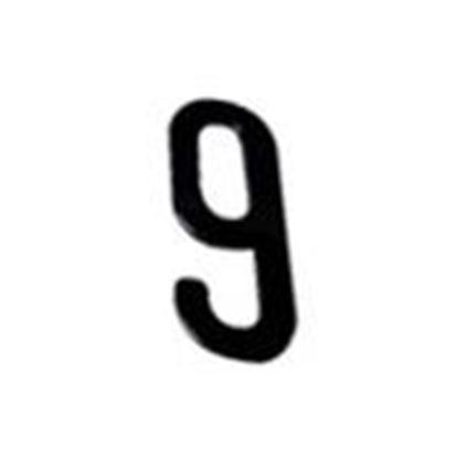 """Picture of Aero-Lite NUM4 #9 4"""" Number """"9"""""""