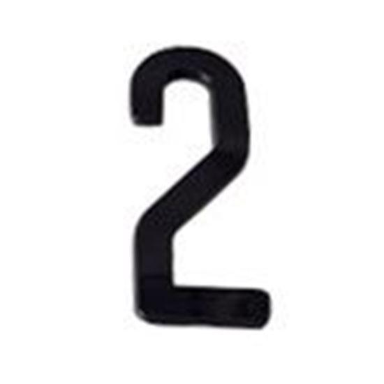 """Picture of Aero-Lite NUM3 #2 3"""" Number """"2"""""""