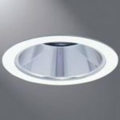 "Picture of Halo 1421H 4"" Trim Reflector White Trim, Haze Reflector, Mr16"