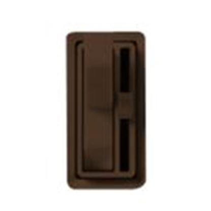 Picture of Lutron AY-600PH-BR Toggle Dimmer, 600W, Single-Pole, Ariadni, Brown