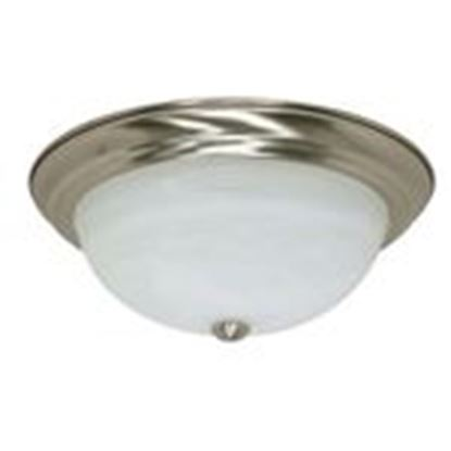 "Picture of Satco 60/199 3 LIGHT - 15"" - FLUSH"