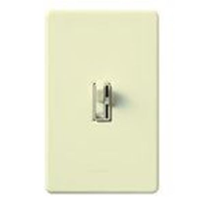 Picture of Lutron AY-10PH-BL Toggle Dimmer, 1000W, Single-Pole, Ariadni, Black