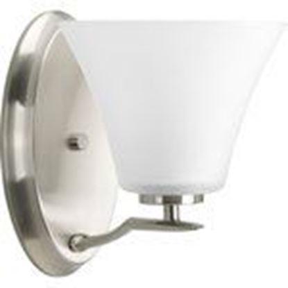 Picture of Progress Lighting P2004-09 1-Lt. Brushed Nickel Bath Light
