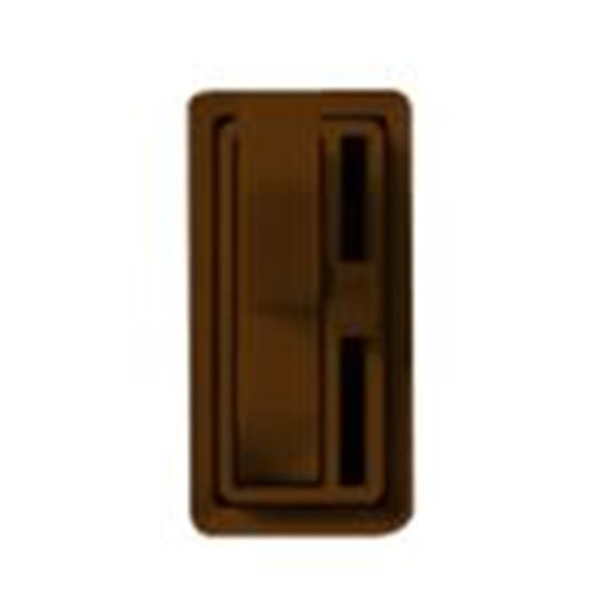 Picture of Lutron AY-10PH-BR Toggle Dimmer, 1000W, Single-Pole, Ariadni, Brown