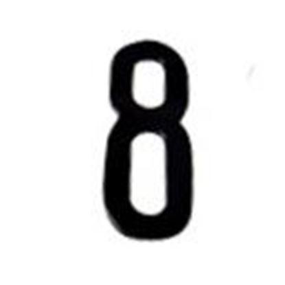 """Picture of Aero-Lite NUM3 #8 3"""" Number """"8"""""""