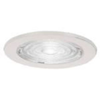 "Picture of Sea Gull 1153AT-15 4"" Fresnal Glass Shower Trim, White"