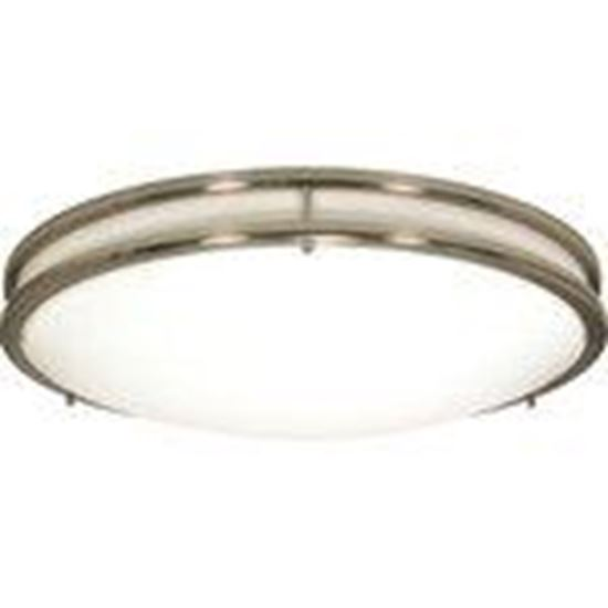 Picture of Satco 62/1035 Glamour LED 10 Inch Flush Mount Fixture