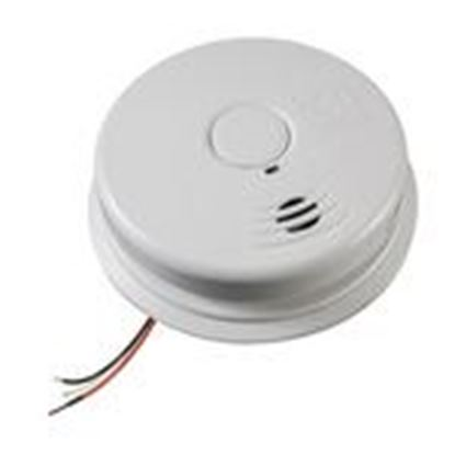Picture of Kidde Fire 21010407-A Smoke Alarm, 120VAC Wire-In, Sealed Lithium Battery Back-Up