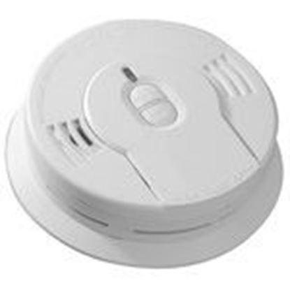 """Picture of Kidde Fire 21008697 Smoke Alarm, 3V Lithium Battery, 85dB @ 10', Diameter: 5.6"""", White"""