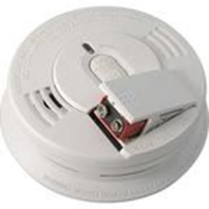 Picture of Kidde Fire 21006376 Ionization Smoke Detector, 120V AC, Wire-In, White