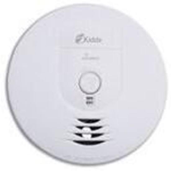 Picture of Kidde Fire 0919-9999 Smoke Alarm, Wireless, Ionization Sensor, Battery Powered