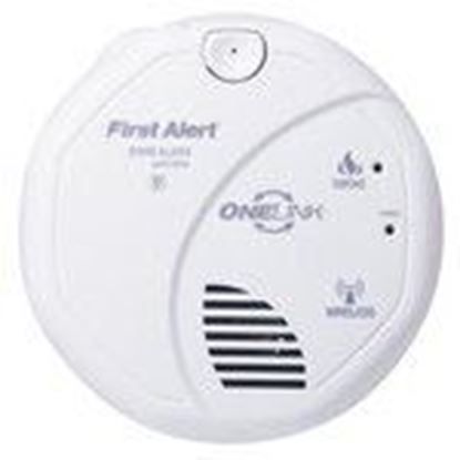 Picture of BRK-First Alert SA511B Wireless Onelink Smoke Alarm, (2) AA Battery Powered, White