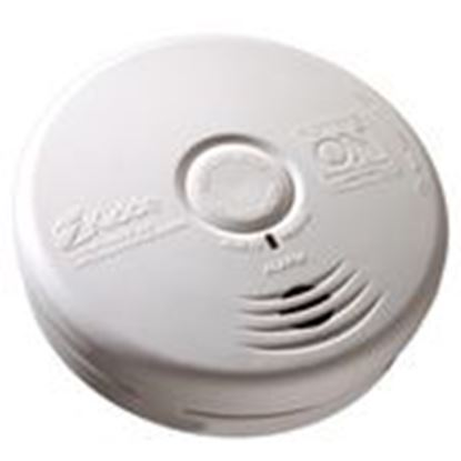 Picture of Kidde Fire 21010071 Smoke/Carbon Monoxide Alarm, Sealed Lithium Battery Powered, White